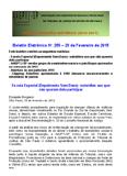 BEL - Boletim Eletrônico Nº 255